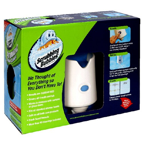 Scrubbing Bubbles Automatic Shower Cleaner Starter Kit