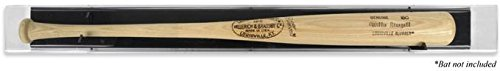 Sports Memorabilia Baseball Bat Deluxe Display Case - Baseball Bat Display Cases No Logo