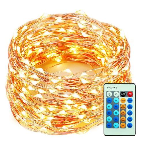 99 Feet LEDs Copper Wire Strings Lights