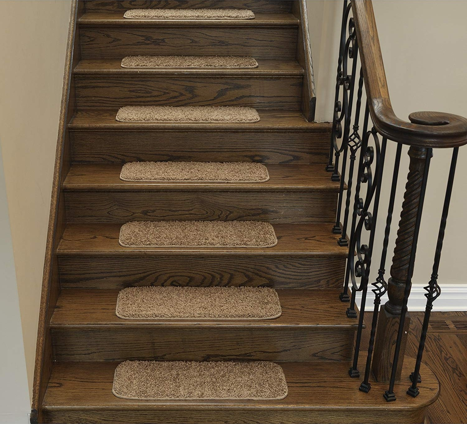 Top 10 Carpets For Stairs In 2020 Highly Recommend In 2020   Gloria Rug Stair Treads   Rubber Backing   8.5 X26   Decor Rugs   Overstock   Area Rug