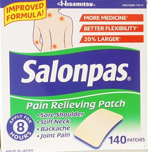 Salonpas pain relieving patch 140 patch