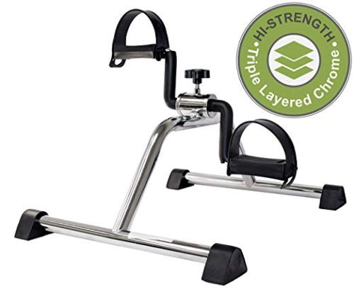 Vaunn Medical Pedal Exerciser Chrome Frame