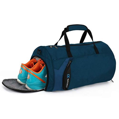 INOXTO Fitness Sports Small Gym Bag with Shoes Compartment Waterproof  Travel Duffel Bag 93ce79ba64c04