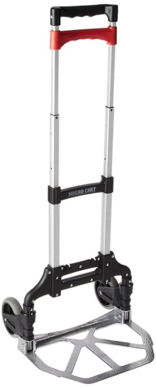 Magna Cart Personal 150 lb Capacity Aluminum Folding Hand Truck- Luggage Carts