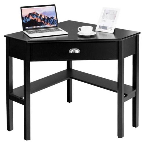 Tangkula Corner Desk