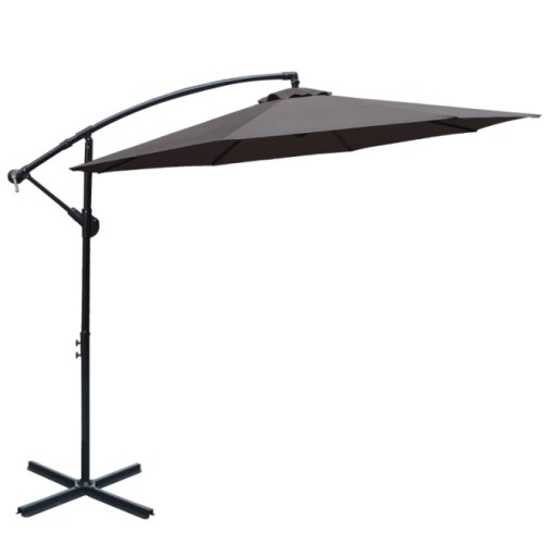 ABCCANOPY 10 FT Hanging Umbrella Cantilever Umbrella