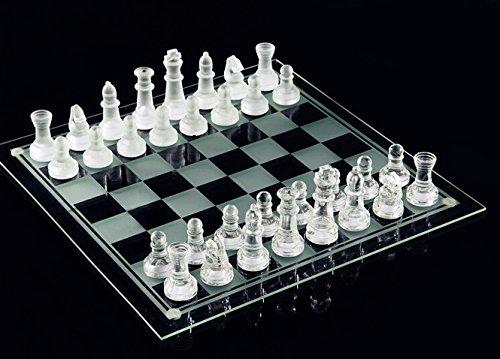 e5e10 Fine Glass Chess Game Set