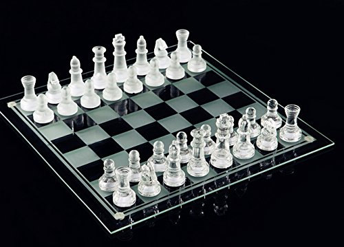 e5e10 Fine Glass Chess Game Set