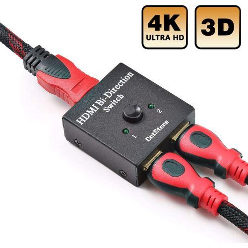 DotStone HDMI Switch Bi-Direction 4K HDMI Splitter