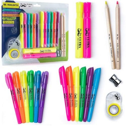 Mr. Pen- 18 Pc Highlighter Set