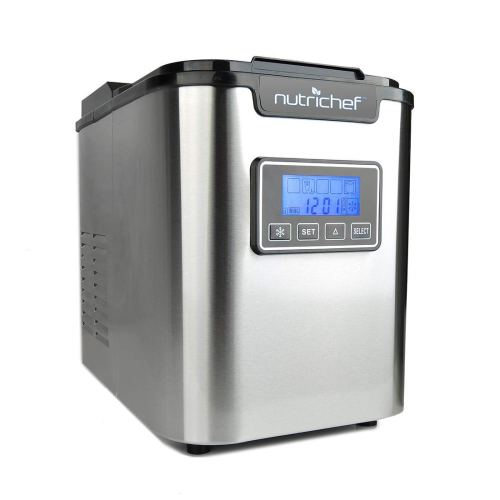 NutriChef Countertop Ice Maker
