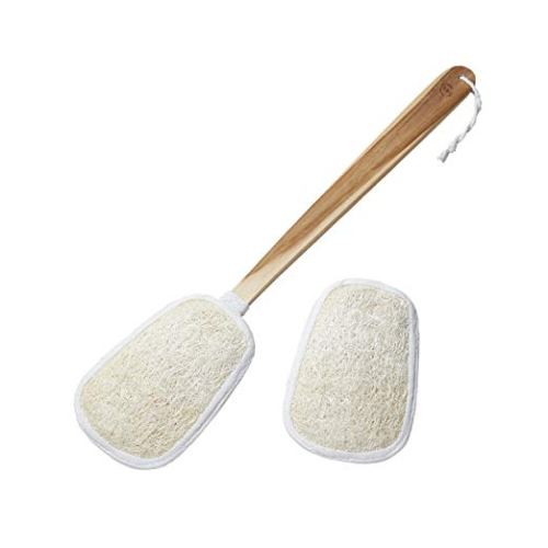Loofah Back Scrubber on a Stick