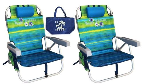 Tommy Bahama Backpack Beach Chairs