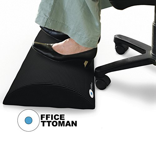 Foot Rest Under Desk Non-Slip Ergonomic Footrest Foam Cushion