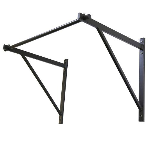 ECOTRIC 50'' Heavy Duty Wall Mounted Chin Pull Up Bar