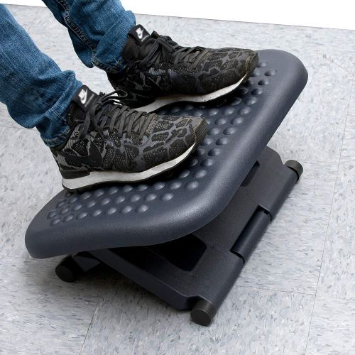 Mind Reader Adjustable Height Ergonomic Foot Rest