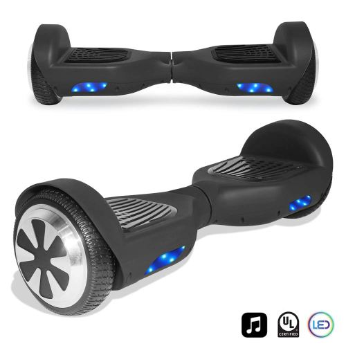 CHO Electric Smart Self Balancing Scooter Hoverboard Built-in LED Wheels Side Lights- UL2272 Certified - Cheap Hoverboards under 250$