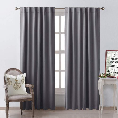 NICETOWN Blackout Curtain Panels Window Draperies