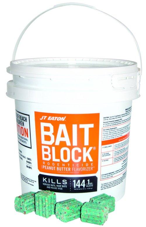 JT Eaton 709-PN Bait Block Rodenticide Anticoagulant Bait