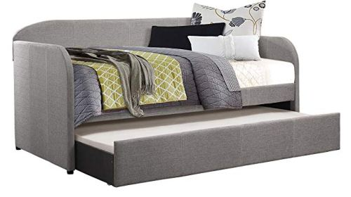 Homelegance 4950GY Roland Fabric Upholstered Daybed