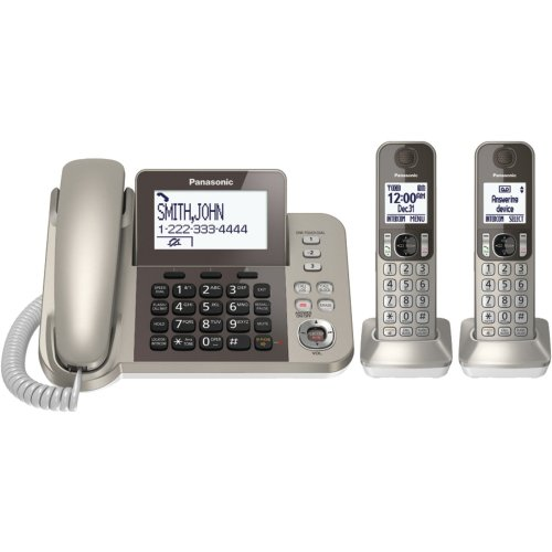 PANASONIC DECT 6.0 Expandable Phone System KX-TGE433B (Black)