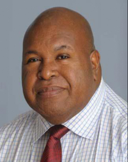 President of the Indigenous Business Council of PNG, Sir Nagora Bogan
