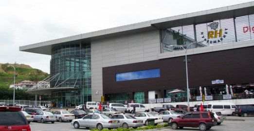 R H Group's Vision City shopping mall in Port Moresby's Waigani district.