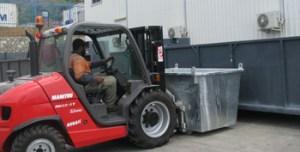 Total Waste Management skip