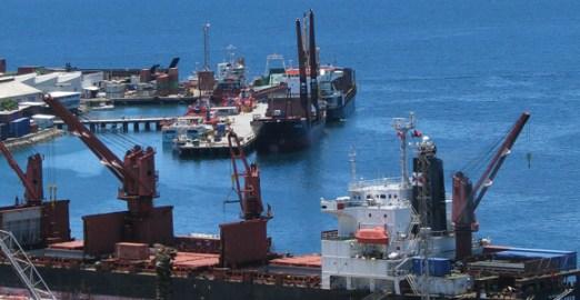 Port Moresby docks