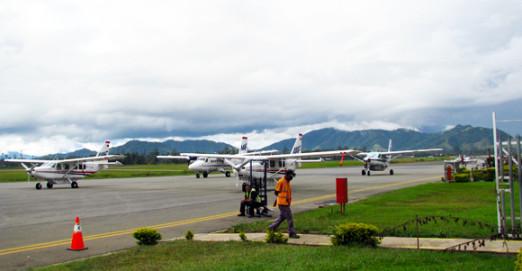 Mount Hagen's airport will be upgraded in 2015