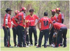 PNG Barramundis. Credit: Cricket PNG.