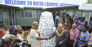 Aropa Airport on Bougainville re-opens after 24 years as the province prepares for its own time zone