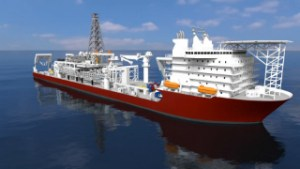 Nautilus' production support vessel. Credit: Nautilus.
