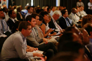Delegates attending the 2014 Papua New Guinea Advantage Investment and Infrastructure Summit