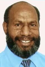 Lands Minister, Benny Allan