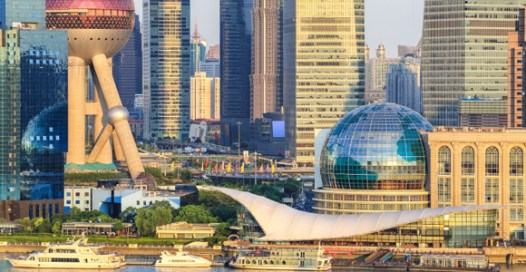 Shanghai's Lujiazui financial district, China. Credit: Chuyu