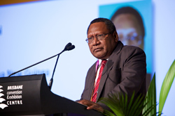 Bank of PNG Governor Loi M Bakani