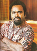 Sir Michael Somare, PNG's first Prime Minister