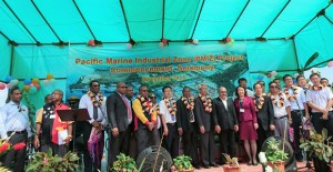 Papua New Guinea's long-awaited Pacific Marine Industrial Zone launched