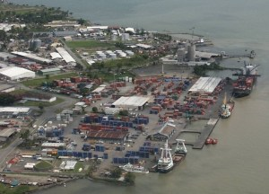 Lae Port. Ports are an essential element of PNG's trade competitiveness.