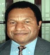 SOE Minister, William Duma. Credit: PNG Facts