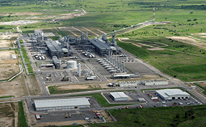 The LNG Plant in Central Province. Credit: ExxonMobil/Richard Dellman