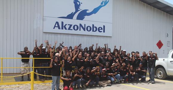 AkzoNobel staff. Source: AkzoNobel