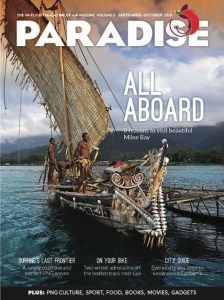 A Paradise magazine cover