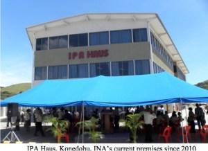 IPA Haus, the INA's premises since 2010 Source: INA