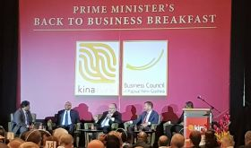 Kina CEO says global economy picking up but Papua New Guinea still faces challenges