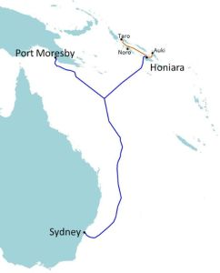 Undersea cable linking Papua New Guinea, Solomon Islands and Australia to be completed late 2019