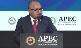 Prime Minister O'Neill tells APEC CEO Summit maintaining international trade rules critical
