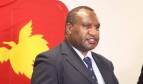 Prime Minister Marape
