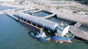 Dangote oil refinery key equipment arrives from China